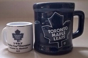 Toronto Maple Leafs NHL 2 Collectilbe Mugs