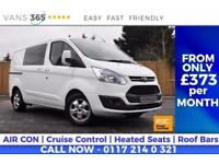 Ford Transit Custom NO VAT 290 LIMITED MODEL LR DCB AIR CON CRUISE HEATED SEATS