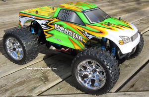 NEW RC MONSTER TRUCK  PRO BRUSHLESS ELECTRIC  1/10 Scale City of Toronto Toronto (GTA) image 1