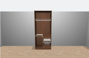 Pax Lighted Closet for Sale!