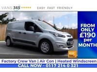Ford Transit Connect LWB CREW VAN AIR CON HEATED FRONT SCREEN 5 SEATS TREND MODE