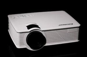 Home Cinema Mini Projector LED Lamp, HDMI,USB. 2000Lumens. $130