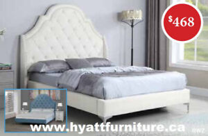 Designed Fabric Single Bed only $468 - We deliver in GTA