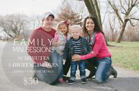 Mini Family Photo Sessions! [limited time only]