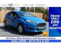 Ford Fiesta F/S/H AIR CON DAB RADIO BLUETOOTH HANDS FREE 85 MPG ECONETIC TDCI