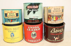 #1 Tobacco Cigarette Tins Advertising Tin Can