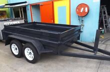 NEW 8x5 HEAVY DUTY TANDEM AXLE NEW TYRES & RIMS INCLUDED Logan Area Preview