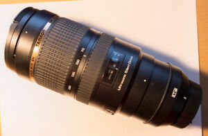 Tamron 70-200mm f/2.8 lens for Nikon + filters
