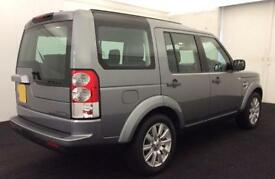 LAND ROVER DISCOVERY 4 SE TD V6 7 SEAT XS HSE LUXURY GS FROM £129 PER WEEK!