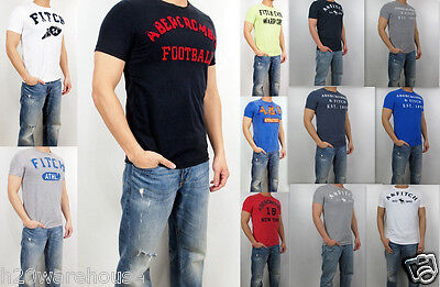 NWT Abercrombie Fitch By Hollister Men Iroquois Buell Mountain Tee T Shirt