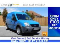 Ford Transit Connect FULL SERVICE HISTORY REPORT FROM NEW VERY CLEAN HAND WASH