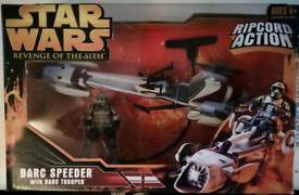 STAR WARS BARC SPEEDER SET