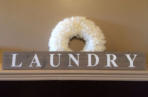 Handmade Wood Signs, Wreaths and Decor