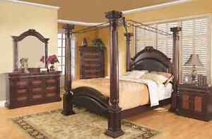 Athens Style Canopy Bed