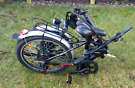 Bike. Folding electric
