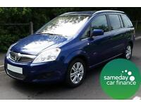 £139.61 PER MONTH 2010 VAUXHALL ZAFIRA 1.7 ELITE DIESEL MANUAL