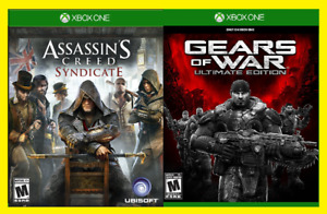 Assassin's Creed Syndicate + Gears of War Ultimate Edition Xbox