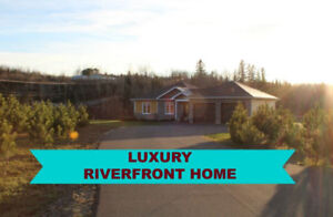 Luxury Riverfront Home In Grand Falls