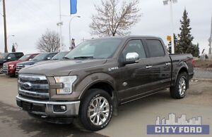 "2015 Ford F-150 4x4 SuperCrew 145"" King Ranch"