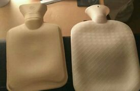 FREE hot water bottles (no covers)