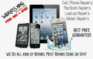 Cell Phone Repair @ Best Price. iphone, Samsung, Macbook. On Spot Repair of Most Devices