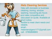 Mels cleaning service - Edinburgh and surrounding domestic and business cleaner