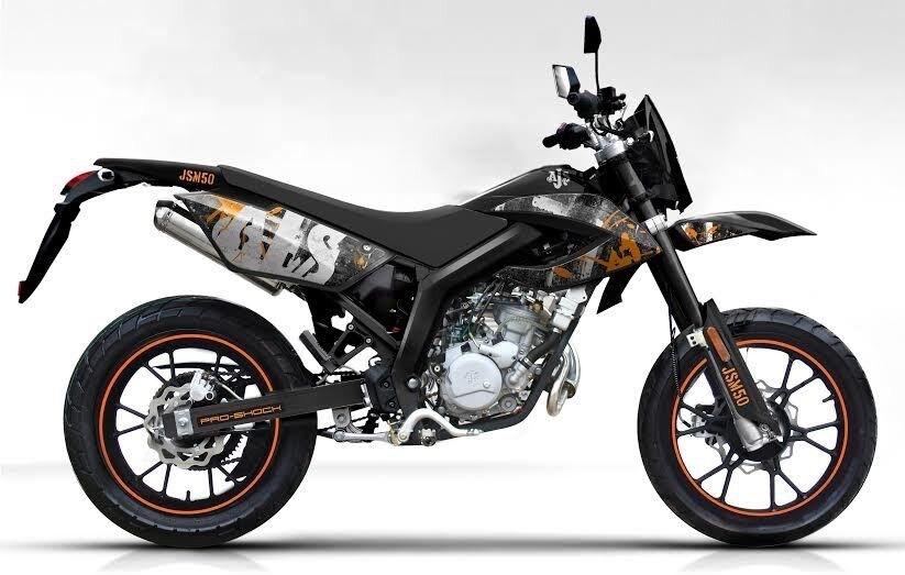 JSM 50 6 geared motorcycle for sale