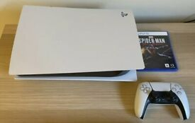 Sony PS5 Blu-Ray Edition Console & Spiderman