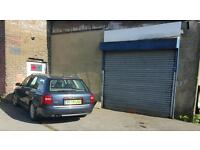 Large secure garage / workshop