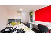 En-Suit Furnished Bedroom in Students Accommodation