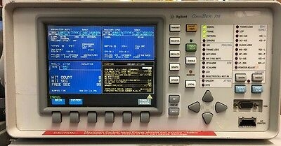 Hpagilent Omniber 718 13101550nm Options 002 012 014 106 200 601