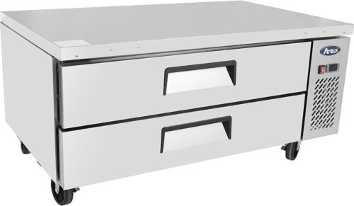 """ATOSA MGF-8451 52"""" 2 DRAWER REFRIGERATED CHEF BASE RESTAURANT FREE LIFTGATE"""