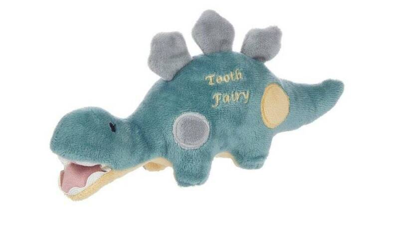 "Maison Chic Dino the Dinosaur Tooth Fairy 9"""