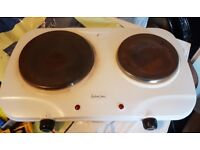 Andrew James Twin Hob Electric