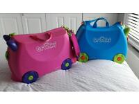 Trunki Suitcases ( only pink one left )