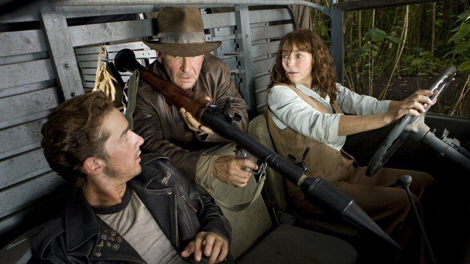 "35mm Feature Film ""INDIANA JONES & THE KINGDOM OF THE CRYSTAL SKULL"""