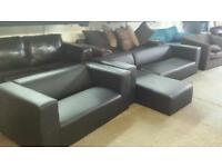 Clarke corner sofa & matching 2 seater sofa ex display models good savings