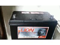 New lion heavy duty battery car / van