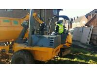 Digger with driver 150 day hire operator digger and driver all areas Plant grab