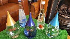 Evian Water Bottles - Collectors Edition