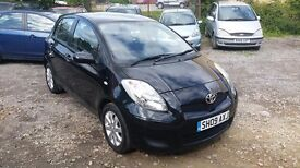 Toyota Yaris 1.3 VVT-i TR 5dr MANUAL ** ONE PREVIOUS OWNER**PART SERVICE HISTORY** GOOD EXAMPLE**