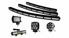"""50"""" Inch Double Row LED Light Bar (Big Mutha) Curved Combo Moorebank Liverpool Area Preview"""