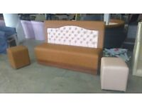 Vinrtage restaurant sofa