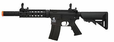 Lancer Tactical Sd Airsoft Rifle Toy AEG Black New