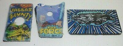 star wars data east  pinball machine plastics jabbas bounty the force falcon new