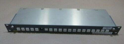 EVERTZ QUARTZ CP-1604 REMOTE CONTROL PANEL 20-KEY PUSH-BUTTON
