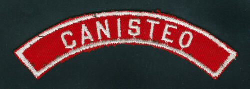 BSA CANISTEO RED AND WHITE CITY STRIP 1960S