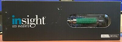 Thin L Bend Dental Ultrasonic Scaler Insert Led Lighted 25k Cavitron Discus