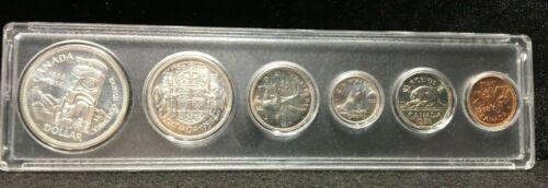 1958 Proof Like Canadian Mint Set 80% Silver
