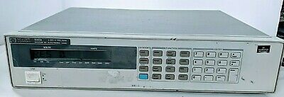 Hp Agilent Keysight 6060b System Dc Electronic Load 3-60v300w With Power Cord